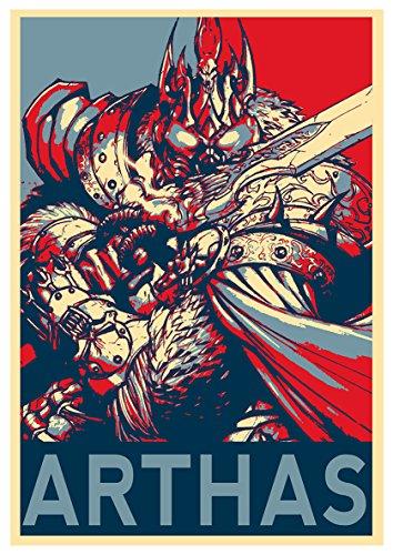 World of Warcraft – Propaganda Arthas Poster