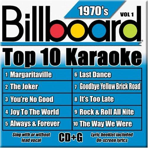 Billboard Top-10 Karaoke - 1970's Vol. 1 (10+10-song CD+G) by Billboard Karaoke (2004-02-24)