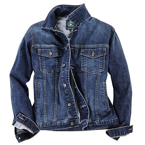Pionier Übergrößen Jeansjacke blau, XL Größe:4XL
