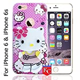 KC Cute Hidden Mirror Bow Girl Soft Apple iPhone 6 & iPhone 6s