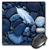 Danita Delimont - Charles Gurche - Feathers - USA, Washington, Snake River, Hells Canyon, Gull feather and stones. - MousePad (mp_189706_1)
