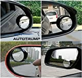 #10: AUTOTRUMP I-Pop Round Flexible Blind Spot Wide Angle Convex Side Rear View Mirror For Mahindra Xylo