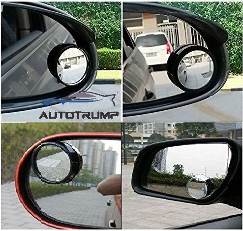 AUTOTRUMP I-Pop Round Flexible Blind Spot Wide Angle Convex Side Rear View Mirror For Maruti Suzuki Ertiga  available at amazon for Rs.299