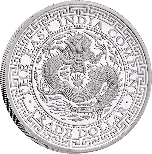 Power Coin Chinese Trade Dollar 1 Oz Silber Münze 1$ Niue 2019