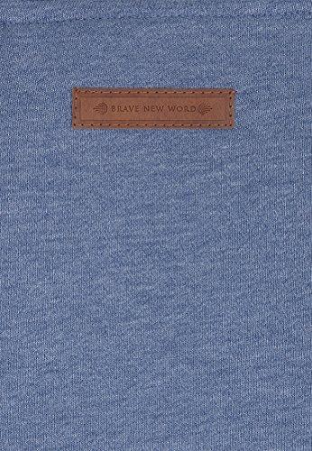Naketano Male Hoody Supapimmel IX Blue Melange