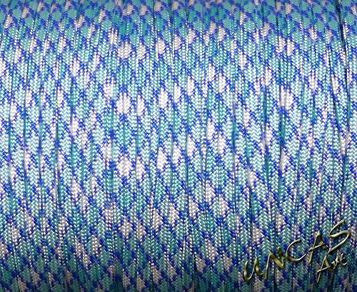 Original bracelet en paracorde 550 tYPE 3–30 m corde-shock blue couleur