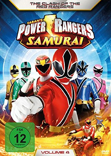 Power Rangers Samurai - The Clash of the Red Rangers, Vol. 4