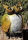 Divertido Buhos Cubo, Abfall Cubos de pedal para el jardín, Buhos Cubos de barbacoa