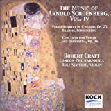 The Music of Arnold Schönberg Vol. IV
