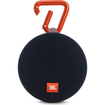 JBL Clip 2 Portable Wireless Bluetooth Speaker with Mic (Black)