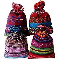 4 sacchettini (14x10cm) di cotone lino multicolor, ciascuno riempito con 30 g di pura lavanda (120g)