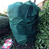 Nutley's 185 x 120 cm Large Fleece Plant Covers - Green (Pack of 6)