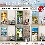 Türtapete selbstklebend Türposter – STEG ZUM MEER – Fototapete Türfolie - 5