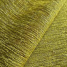 Mobberley 'pistacho Plain': verde tapicería chenilla sofá cojín tela retardante de llama Material de telas Loome, Mobberley 'Pistachio Plain' : Green, 10 x 14 cm sample