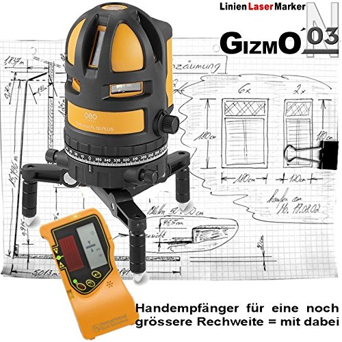 Preisvergleich Produktbild LinienLaserMarker GIZMO-2003-N | KreuzLinienLaser FL 55 PLUS HP