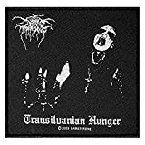 DARKTHRONE Aufnäher TRANSILVANIAN HUNGER Patch gewebt 10 x 11 cm