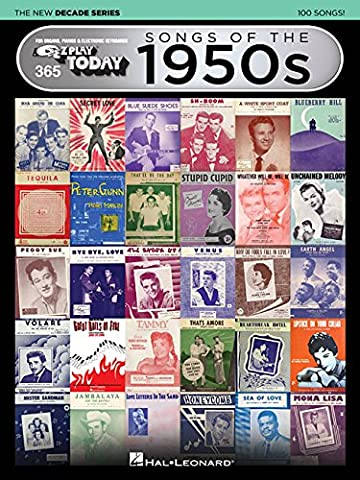 Songs of the 1950s - The New Decade Series: E-Z Play Today Volume 365 (E-Z Play Today - the New