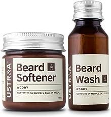 Ustraa Beard Softener Ustraa (Beard Softener + Beard Wash)