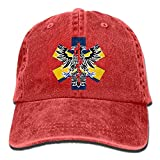 Xukmefat Alaska Flag EMT Unisex Baseball Cap Cowboy Hat Dad Hats Trucker Hat NN917