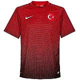 Nike Tur M SS H/A Stadium JSY–Trikot Offiziellen XXL Schwarz/Rot/Weiß