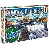 Falomir - Hundir los barcos 3D, juego de mesa (25010)