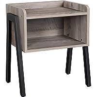 VASAGLE Table de Chevet, Table d'appoint, Table de Nuit, empilable, avec Compartiment de Rangement Ouvert, Pieds en…