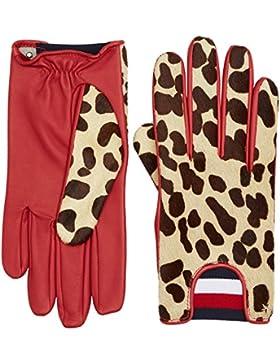 Tommy Hilfiger Damen Handschuhe Leopard Gloves