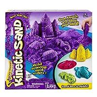 Kinetic Sand - Sandbox & Molds - Purple