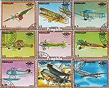 Paraguay 3153-3161 (kompl.Ausg.) 1979 Geschichte der Luftfahrt (Briefmarken für Sammler)