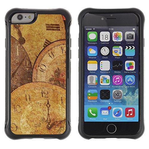Graphic4You America World Sensor Map Geography Design Shockproof Anti-Rutsch Weichen Hülle Case Tasche Schutzhülle für Apple iPhone 6 Plus / 6S Plus Design #13
