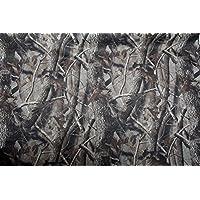 Hoja de camuflaje de neopreno. Neoprene sheet camouflage. Patrón de la hoja. 132cm x 100cm. Impermeable