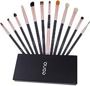 Eono by Amazon - Eyeshadow Brush Sets Professional,Includes - Eyeshadow Brushes, Blending Brush, Crease Brush, Concealer Brus