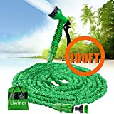 Best Garden Hoses - Expandable Garden Water Hose Pipe- Liwiner 100FT 3 Review