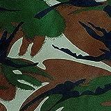 NOVELY® Oxford 210D Polyester Stoff Camouflage dunkel für