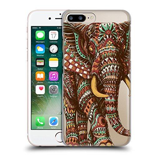 Offizielle Bioworkz Elefant Verziert 1 Bunte Wildtiere 2 Ruckseite Hülle für Apple iPhone 5 / 5s / SE Elefant Verziert 2