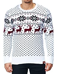 MT Styles norvégien pull en tricot 1531