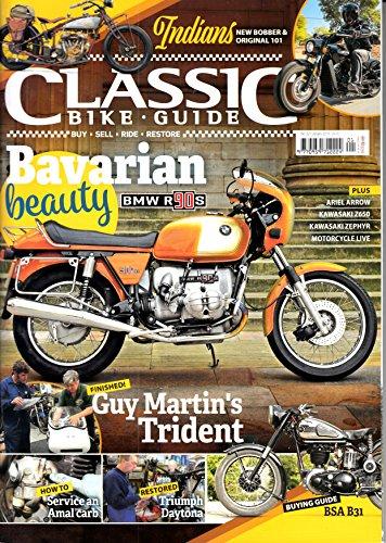 Classic Bike Guide (UK) 1 2018 BMW R 90 S BSA B31 Zeitschrift Magazin Einzelheft Heft Vintage Bikes Bike Motorrad Motorräder -