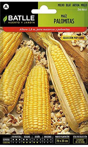 Semillas Hortícolas - Maíz Palomitas Pop Corn - Batlle