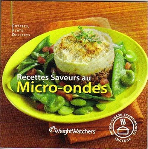 Recettes saveurs au micro ondes