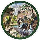 Tortenaufleger Dinosaurier 02