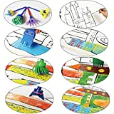 EVNEED GP-Hsp-1129 Paint sponges for kids,29pcs of fun Paint Brushes for Toddlers