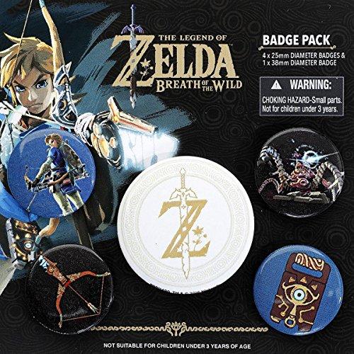Pyramid International The Legend Of Zelda: Breath of the Wild Z Emblem Badge, mehrfarbig, 10x 12,5x 1,3cm (Weihnachten Kleidung Disney)