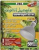 JBL ancho Foco para lluvia Bosque terrarios, aluminio, E 27, Reptil Jungle L de U de W