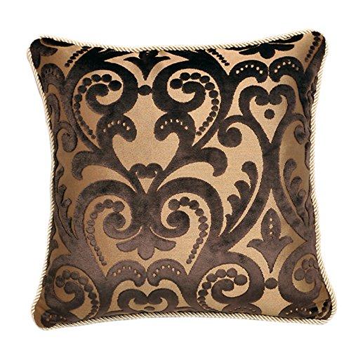 RFVBNM Violeta mullidas almohadas de lujo Continental amplio sofá cabecera cojín Lumbar posterior Chip de soporte-
