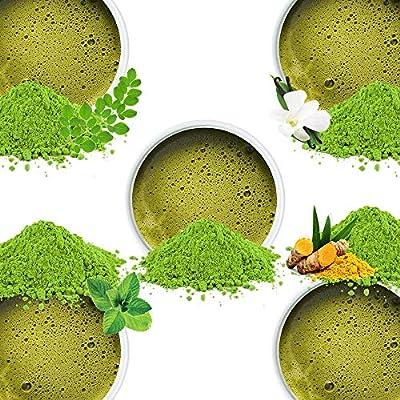 Feuilles de Thé Vert d'Himalaya (50 Tasses), Thé En Feuilles Naturel 100% Pur, Thé Amincissant pour Perte de Poids, Antioxydants Naturels Puissants, Récolté dans les Hautes Plantations, 100g