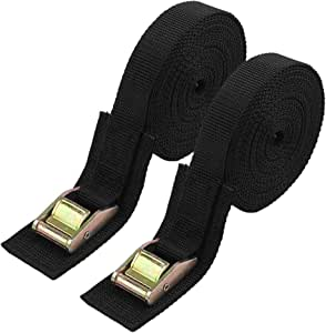 """Military Surplus Ratchet Strap Tie Downs TWO PACK 1 3//4/"""" x 10/'  *FREE SHIP*"""