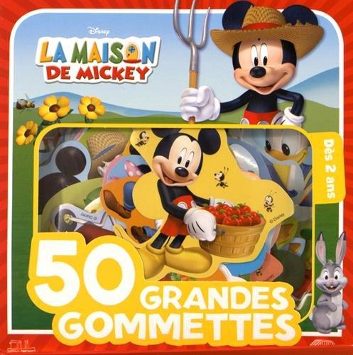 50 grandes gommettes La Maison de Mickey : Dès 2 ans por Disney Junior