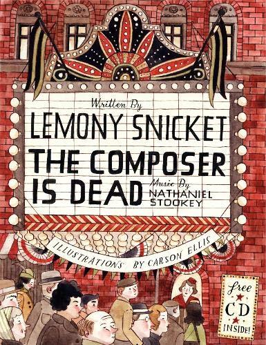 The Composer Is Dead (Book & CD) por Lemony Snicket