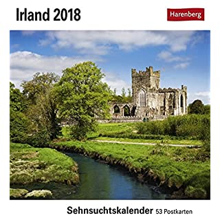 Irland - Kalender 2018: Sehnsuchtskalender, 53 Postkarten