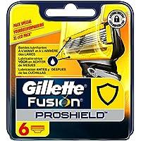 Gillette Fusion ProShield Lames De Rasoir Pour Homme - 6Recharges